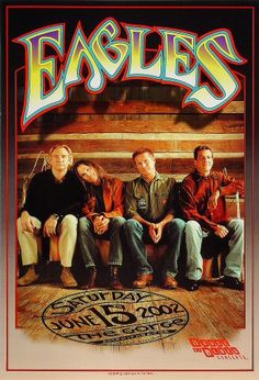Image detail for -celebrity: the eagles band poster