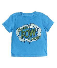 Baby Pow Tee - New In - Browse - baby boys | Peek Kids Clothing