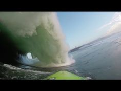 Mavericks: Mark Healey's Two Wave Hold Down - YouTube