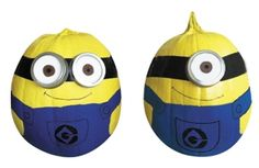 Halloween DIY How-To: Dave and Stuart Minion Pumpkins