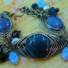 Jewelry Tutorials - Learn to make Wire Wrapped Jewelry - Tutorials for Bracelets, Pendants, Rings, Earrings and Diy Jewelry Tutorials, Jewelry Kits, Wire Jewelry, Jewelry Crafts, Jewelery, Jewelry Making, Jewelry Ideas, Wire Tutorials, Diy Jewellery
