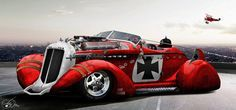 Red baron cars