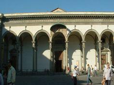 Santissima Annunziata, Florence. De Antonio da Sangallo
