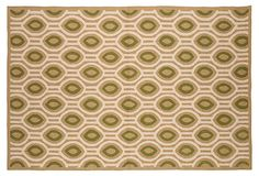 Outdoor rug in Sand.  Maybe for the kitchen?