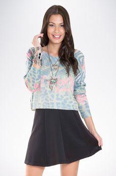 Blusa de Tricot Estampado Giestas cód.: 2825759
