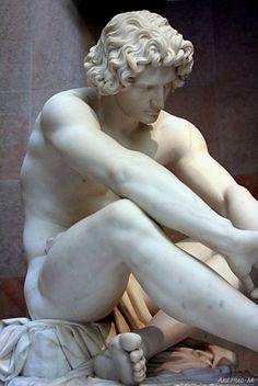 Le Désespoir, (1861)  Jean-Joseph Perraud (1819-1876)   Musée d'Orsay, Paris