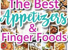 The Best Easy Party Appetizers, Hors D'oeuvres, Delicious Dips and Finger Foods Recipes – Quick family friendly tapas and snacks for Holidays, Tailgating, New Year's Eve and Super Bowl Parties! – Page 2 – Dreaming in DIY Appetizers For A Crowd, Finger Food Appetizers, Finger Foods, Party Appetizers, Appetizer Recipes, Party Snacks, Holiday Appetizers, Brunch Recipes, Dinner Recipes