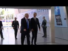 New on my channel: POTUS Arrives at NATO  https://youtube.com/watch?v=94F1-l6-_xU