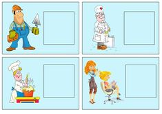 Asociamos objetos con profesiones | Mírame y aprenderás