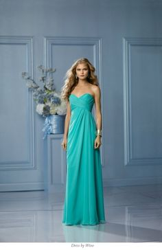 Teal bridesmaids dresses? Liking the colour for our beach wedding