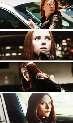 """""""The Black Widow always wins, and will continue to."""" -- Scarlett Johansson"""