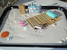 Beach Zen Garden Desktop Beach Mini Beach on Etsy, £25.05