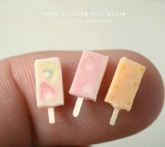 Nunu's house mini popsicles