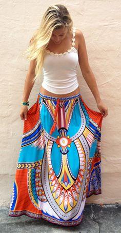 Beach Sun Skirt - Boca Leche