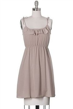 The Wishing Spell Dress Modcloth Style, Nude, Casual, Juniors, Above Knee #ModCloth #Aline #Casual