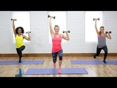 Workout Exercise Torch calories with this workout to boost your metabolism. POPSUGAR Fitness offers fresh fitness tutorials, workouts, and exercises that will help . Fitness Workouts, Toning Workouts, Easy Workouts, Exercises, Workout Routines, 45 Minute Workout, Video Sport, Muscle Fitness, Health Fitness