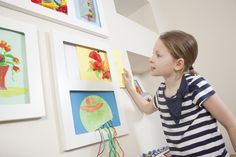 Just slot those wonderful creations in to place for an instant display.