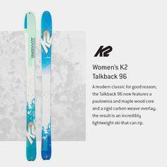 K2 Talkback 96 Ski - Women's