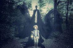 """Bones"" by Karen Jerzyk Grim Fairy Tales, Tech Art, Dreams And Nightmares, Life On Mars, Design Show, Set Design, Horror Art, Great Photos, Darth Vader"