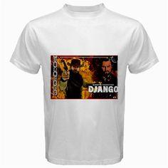 Django Unchained white t-shirt size S, M, L, XL, 2XL, 3XL, 4XL and 5XL | butikonline83 - Clothing on ArtFire $18