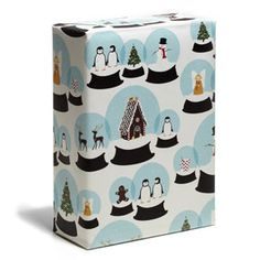 Wrapping - Paper - Snow Globes - Snow & Graham: Letterpress Stationery, Invitations, Greeting Cards and Calendars