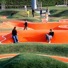 BUGA 05 Playground by Rainer Schmidt Landschaftsarchitekten « Landscape Architecture Works | Landezine
