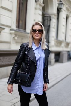 Cozy Casual - P. I love fashion by Linda Juhola Cute Work Outfits, Basic Outfits, Casual Outfits, Fashion Outfits, Leather Jacket Outfits, Colourful Outfits, Western Outfits, Love Fashion, Spring Fashion