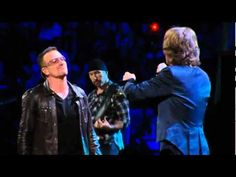 U2 & Mick Jagger - Stuck in a Moment You Can't Get Out Of - Almost too good to be true;-)...