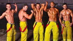 Buy a Sexy Fireman Calendar - Hire a Butler in the Buff Hot Firefighters, Firemen Hot, Fireman Birthday, Burning Love, Light My Fire, Hommes Sexy, Men In Uniform, Raining Men, Good Looking Men