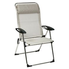 Lafuma Chamu0027elips XL Folding Chair (Set Of 2)   Color: Seigle