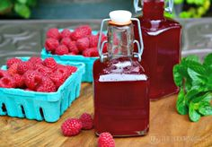 Homemade Raspberry Syrup to add to drinks! Make Italian soda or creamy soda! The Foodie Affair Raspberry Syrup, Red Raspberry, Homemade Syrup, Sweet Sauce, Fruit Recipes, Drink Recipes, Red Fruit, Non Alcoholic, Simple Syrup