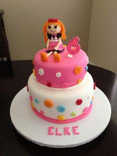 Lalaloopsy Cake!!