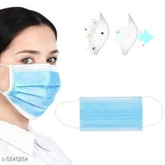 Others Medical Disposable 3 Ply Mask COMBO Material :- PP Non woven Size :- Size :- Free Size  Quality :- 3 Layer Ear loop :- Elastic ear loop Multipack: 4 Sizes Available: Free Size *Proof of Safe Delivery! Click to know on Safety Standards of Delivery Partners- https://ltl.sh/y_nZrAV3  Catalog Rating: ★4.3 (572)  Catalog Name: Medical Disposable 3 Ply Mask COMBO CatalogID_881580 C84-SC1284 Code: 801-5845254-