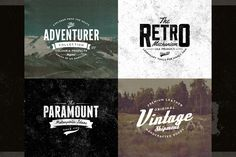 Classic Vintage Insignias Collection - Logos - 2