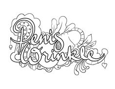 Marvelous Penis Wrinkle   Coloring Page By Colorful Language © Posted Withu2026