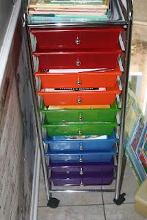 a simple way to use workboxes for preschool homeschool