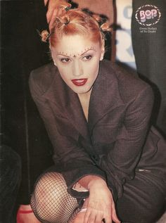 bindhis, so very 90s. now they're coming back. miss this Gwen...