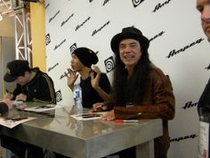 Juan Alderete, dUg Pinnick and Mike Inez - Ampeg NAMM 2014