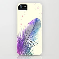 Feather  iPhone & iPod Case by Monika Strigel - $35.00