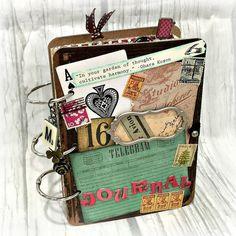 3 Ring  Planner Organizer Junk Journal Smash Book Mini Album