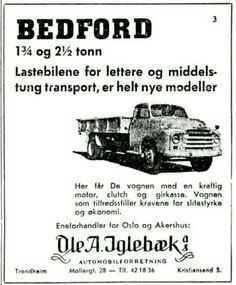 Bedford Iglebæk, Oslo 1950-tall