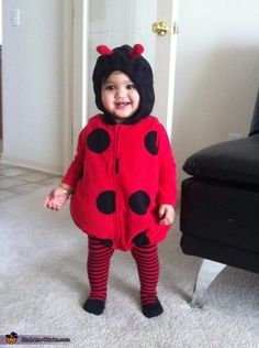 Little Ladybug - 2012 Halloween Costume Contest
