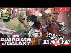 Guardiões da Galáxia - Disney Infinity - Marvel Super Heroes 2.0 Edition