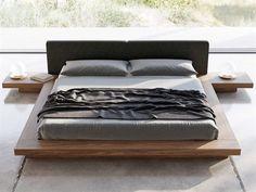 Japanese Platform Bed, Modern Platform Bed, Queen Platform Bed, Upholstered Platform Bed, Japanese Style Bed, Japanese Home Decor, Japanese House, California King Platform Bed, California King Bedding