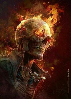 Ghost Rider, based on the concept by Dave Rapoza, modeled in ZBrush, rendered in KeyShot by Rodrigo Soria. Comic Book Characters, Comic Character, Comic Books Art, Comic Art, Marvel Comics, Marvel Vs, Marvel Heroes, Captain Marvel, Ghost Rider Wallpaper
