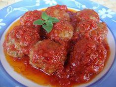 Κεφτεδάκια τηγανιτά με σάλτσα - Keftedakia tiganita me saltsa
