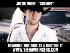 Justin Moore - Grandpa [ New Video + Download ]