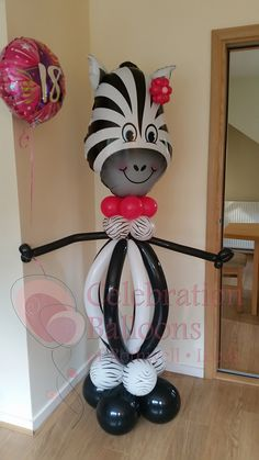 Jungle themed party balloons from www.rothwellballoons.co.uk