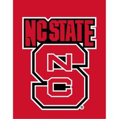 North Carolina State University House Flag, Multicolor