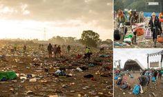 Glastonbury clean-up begins as 800-man litter team sweeps across site